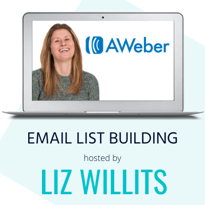 aweber email list building