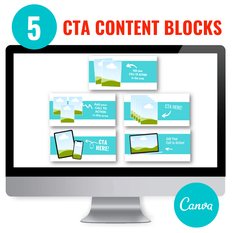 canva content call to action