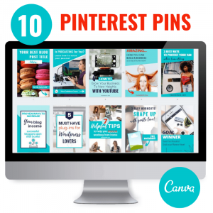 canva pinterest pin templates
