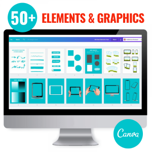 canva templates elements and graphics