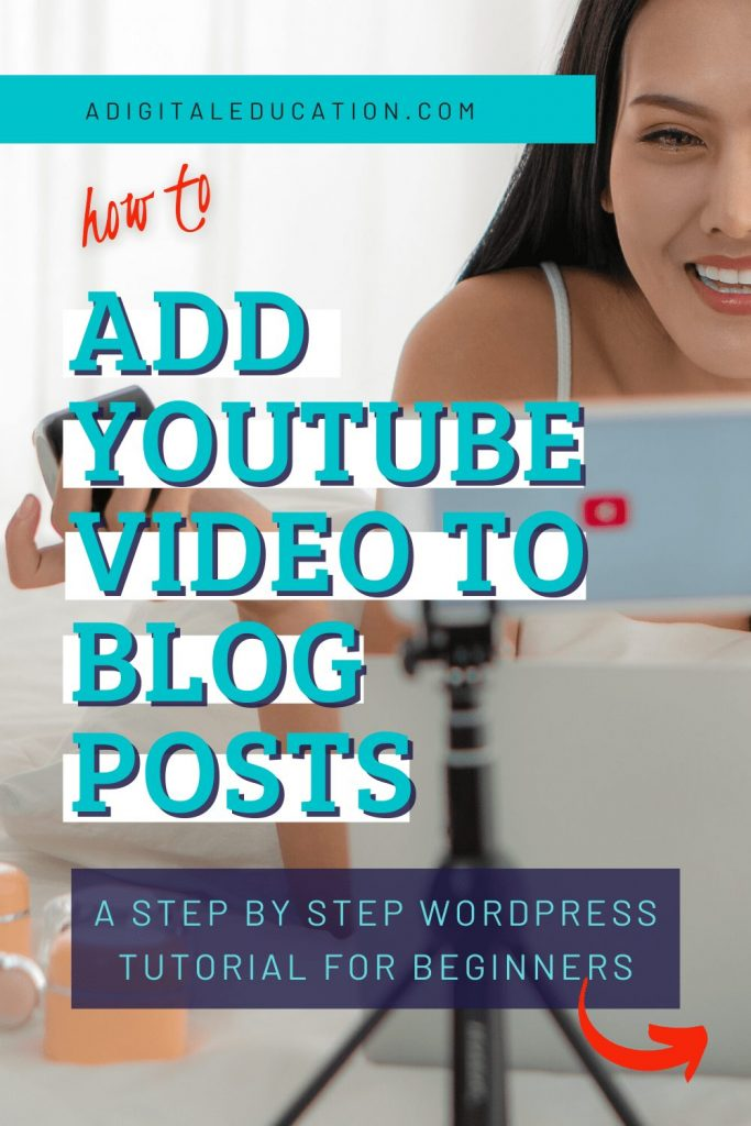 how to embed a youtube video on my website