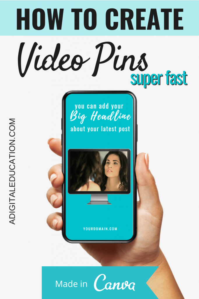 video training on video pins